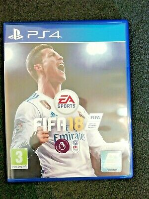 Fifa 18 Ps4 Playstation 4, Excellent Condition