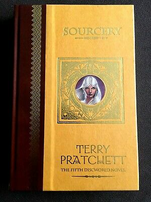 SOURCERY Terry Pratchett Discworld UNSEEN LIBRARY 2002 Limited Edition Hardback