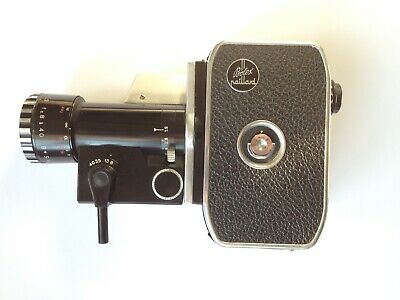 bolex Paillard Bolex P2 Zoom Reflex Movie Camera SUPER8 + ACCESSORIES