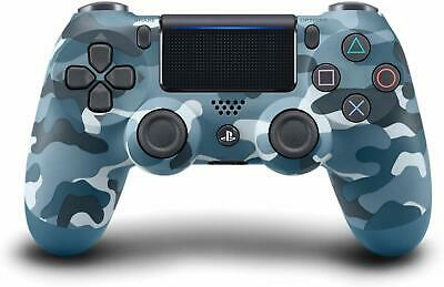 Official Sony PlayStation 4 Dual Shock 4 Wireless Controller Blue Camo PS4 NEW