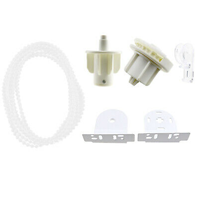 38mm Roller Blind Shade Cluth Bracket Repair Kit Spares Brackets With 2M Chain
