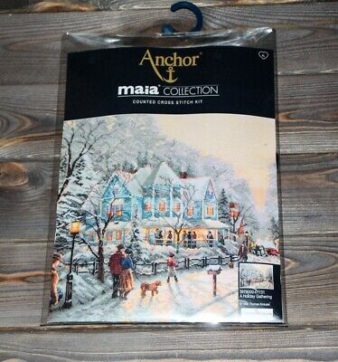 Anchor Maia Counted Cross Stitch Kit A Holiday Gathering 5678000-01131