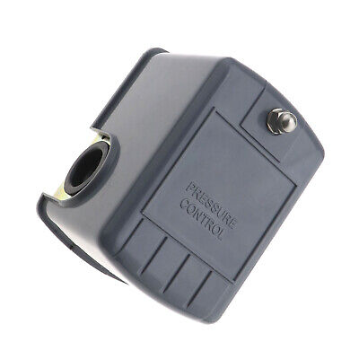 Water Pump Pressure Control Switch Adjustable Double Spring Pole Grey Shell