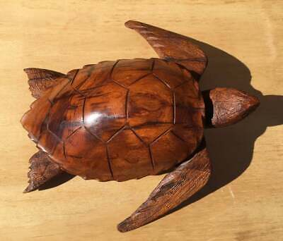 Ironwood Sea Turtle Carving - USA artisan-crafted and Extra Large!
