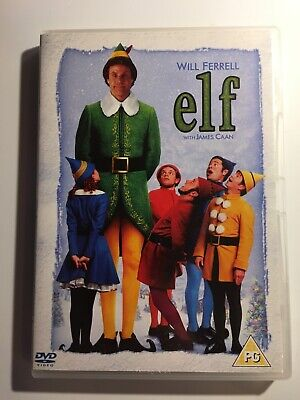 Elf DVD Will Ferrell James Caan