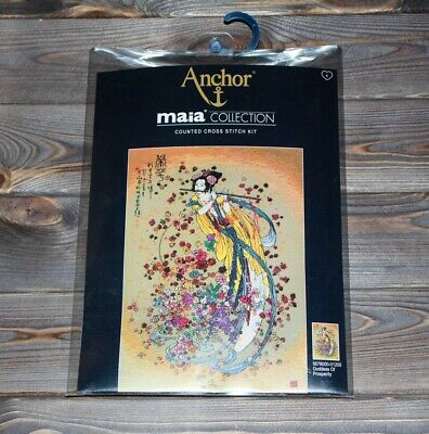 Anchor Maia Counted Cross Stitch Kit Goddess Of Prosperity 5678000-01205