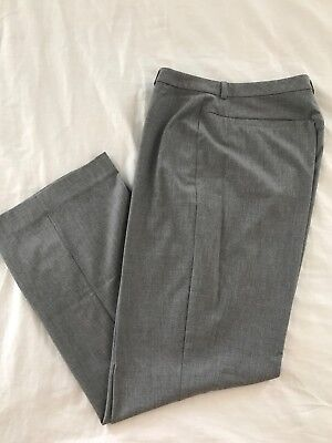 Old Navy All  Gray Flat Front Stretch Career Dress Women's Pants Size 12 Reg