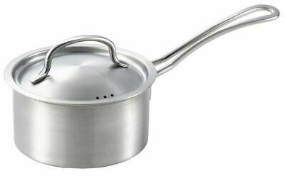 Yoshikawa one-handed pan silver 140mm stainless steel YJ2109 from Japan cooking