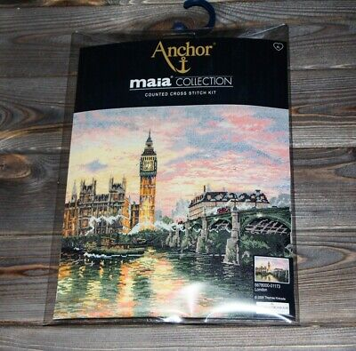 Anchor Maia Counted Cross Stitch Kit London 5678000-01173