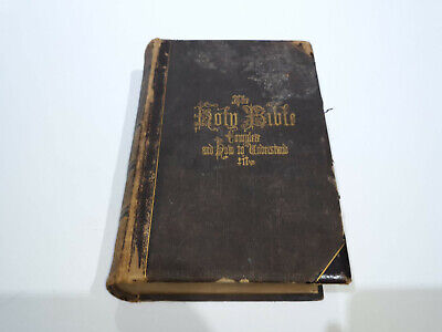 1869 HITCHCOCK'S New And Complete Analysis of THE HOLY BIBLE