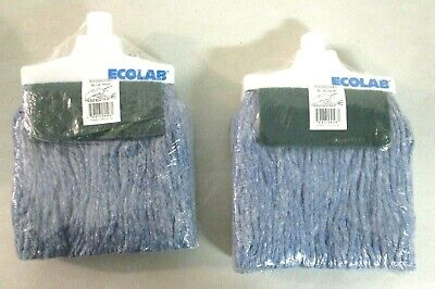 Pack of 2 Ecolab 89990046 Blue Mop Grease Beater 1081 ^