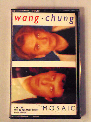 Wang Chung Mosaic Cassette Tape Pop 1986 Audio Music Everybody Have Fun Tonight