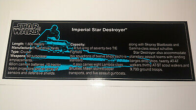 Star Wars Sticker for Lego® 10030 Star Destroyer ISD High Quality