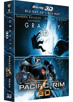 PACIFIC RIM 3D - GRAVITY 3D  // BLU-RAY neuf