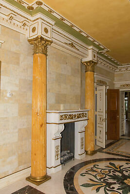 Stunning Vintage 11.3 Foot Tall Corinthian Column, Fluted, Architectural Salvage