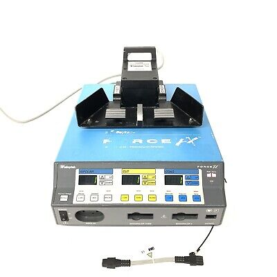 Valleylab FORCE FX Instant Response Electrosurgical Generator w/Footswitch E6008