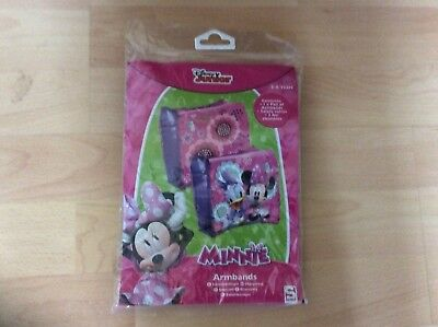 Disney Minnie Mouse And Daisy Duck Swimming Arm Bands Age 3-6 Years