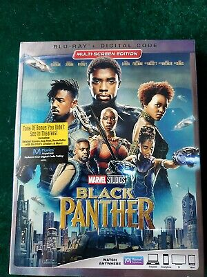 1047 Black Panther 2018 Movie Poster Print Wall Art A4 A3 Avengers Kids