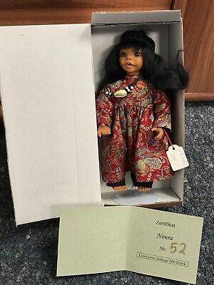 Gaby Jaques Vinyl Doll 25 Cm. Unrecorded with. Pot Condition