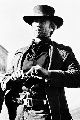 Clint Eastwood Pale Rider Loading Gun 18x24 Poster