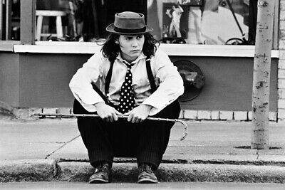 Johnny Depp B&W 18x24 Postergraph Benny And Joon