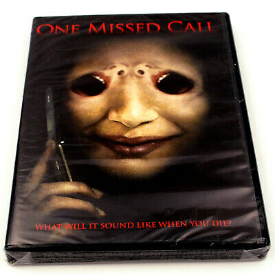 One Missed Call DVD Genre Horror Ghosts & Supernatural Rated PG-13 2008 New