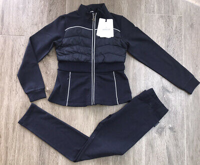 Moncler Girls Navy Tracksuit Bran New With Tags Age 10 Yrs