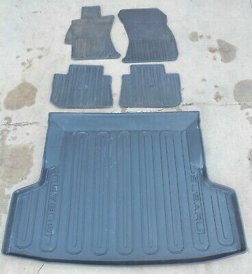 1st /& 2nd Row Rubber Floor Mat for Honda Accord #R6938 *13 Colors