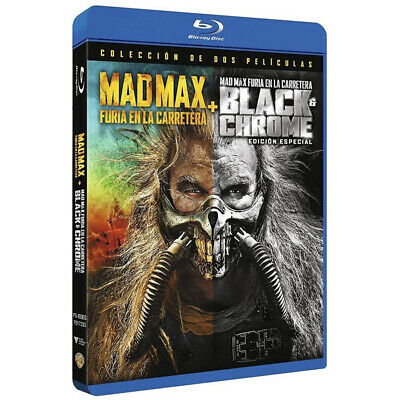 Mad Max Furia En La Carretera Edicion Black Chrome BluRay (SP)