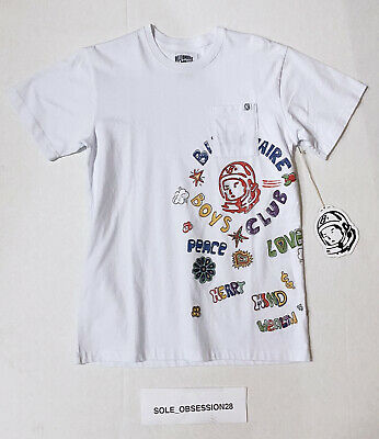 Billionaire Boys Club DOUBLED SS Tee 891-7212 High Risk Red 2019 Brand New