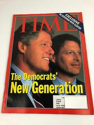 Time Magazine Vintage Back Issue July 20 1992 - Exclusive Interview with Clinton