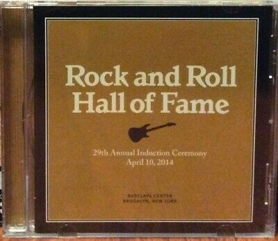 Rock And Roll Hall Of Fame 2014 Cd Kiss Nirvana  Linda Ronstadt New Sealed