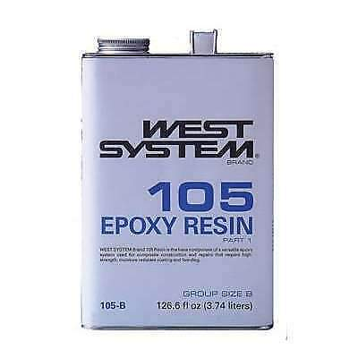 West System Brand Epoxy Resin .98 Gallon #105-B