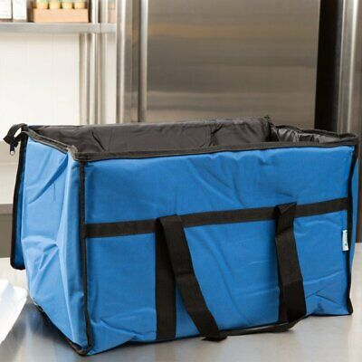 Black Industrial Nylon Insulated Food Delivery Bag Chafer Pan Carrier $10 Rebate