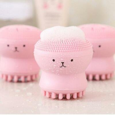 Octopus Facial Cleanser Brush Deep Cleaning Face Skin Care Scrubber Silicone