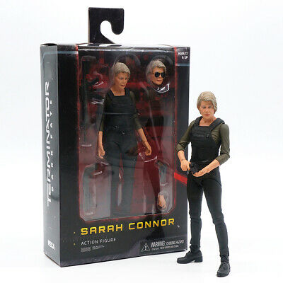"""Neca 2019 Terminator Dark Fate Sarah Connor 7"""" Action Figure Playable Toy Gift"""