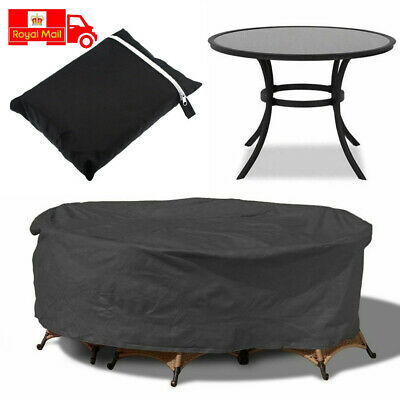 Uk Protective Outdoor Garden Furniture Cover Patio Table Chair Set Protect