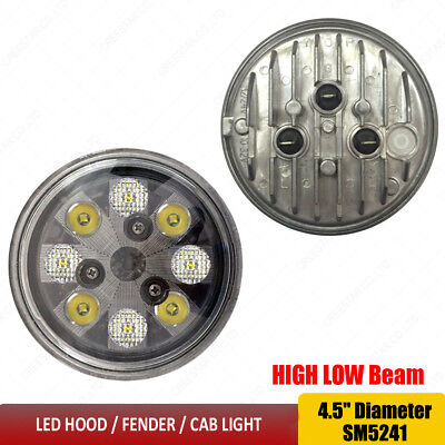 CREE Led Cab Light 12V 24V Led sealed Lamp - Hi/Lo beam 4411 24443 Style Lights