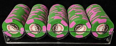 1 Rack of NEW Outpost Casino 50¢ cent fracs Paulson Top Hat & Cane THC Chips