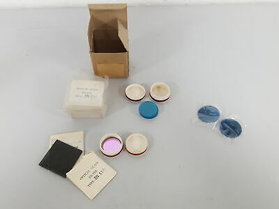 Lot of Optical Glass Filter Microscope