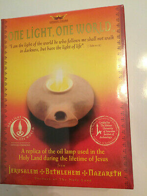 Oil Lamp Replica from the Holy Land Jerusalem