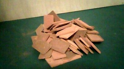 Real brick roof tiles (pack of 100) for 1/12th dolls house,Richard Stacey