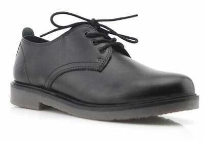 ROC Luxe Lace School Shoe in Black