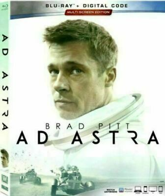 Ad Astra (Blu-ray + Digital, 2019) Brad Pitt Like New