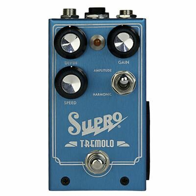 Supro Tremolo Effects Pedal