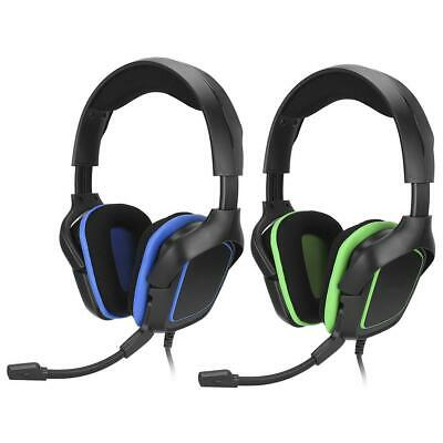 3.5mm Wired Gaming Headset Headphone Earphone Microphone for Switch PS4 Laptop
