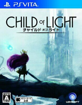 USED PS Vita Child of Light Special Edition Japan import