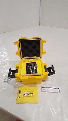 Invicta Men's 18051 Specialty Watch w/ Impact Yellow Dive Waterproof Watch Case