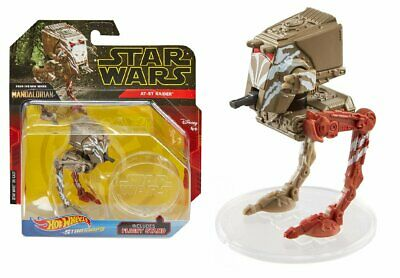 2019 Star Wars The MANDALORIAN AT-ST Raider Hot Wheels