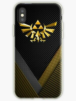 The Legend of Zelda iPhone X/XS XR 11 5 SE 6 7 8 S Plus, Video Game Case/Cover